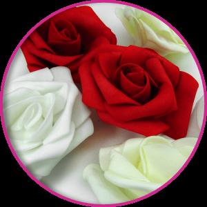 Flor Foamy 6.5CM