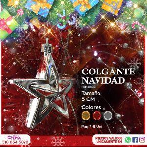 COLGANTE NAVIDAD 8833