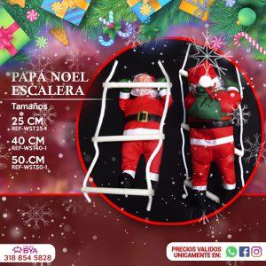 Papá Noel Escalera