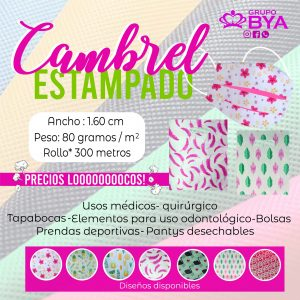 CAMBREL ESTAMPADO