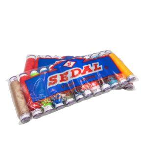 Hilos Sedal – paquete de 12 unidades